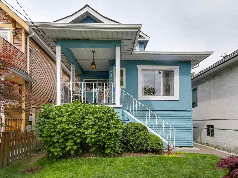 Main Photo: 3107 WINDSOR STREET in Vancouver East: Home for sale : MLS®# R2072121