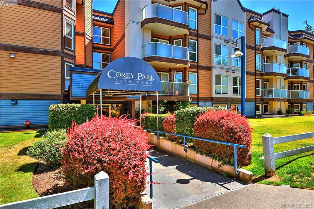 Main Photo: 106 2529 Wark Street in VICTORIA: Vi Hillside Condo Apartment for sale (Victoria)  : MLS®# 381521