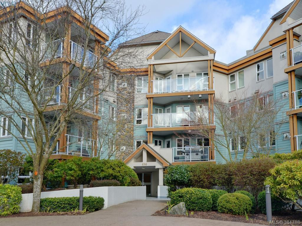 Main Photo: 103 490 Marsett Place in VICTORIA: SW Royal Oak Condo Apartment for sale (Saanich West)  : MLS®# 384788