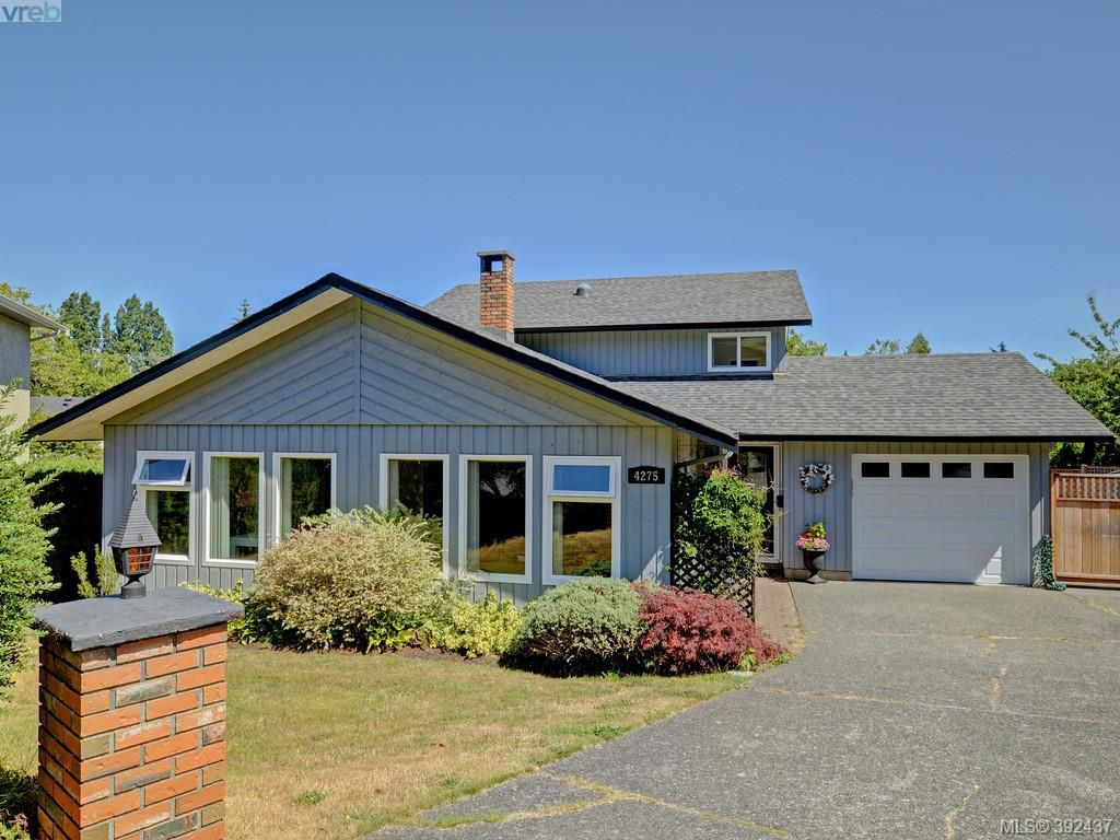Main Photo: 4275 Baylis Place in VICTORIA: SE Gordon Head Single Family Detached for sale (Saanich East)  : MLS®# 392437