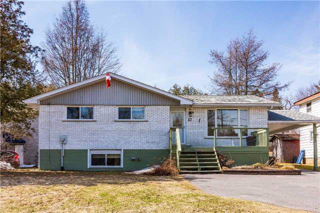 Main Photo: 67 Bowes Street in Parry Sound: Property for sale : MLS®# X4170783