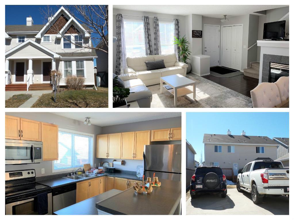 Main Photo: 7218 19A Avenue in Edmonton: Zone 53 House Half Duplex for sale : MLS®# E4148266