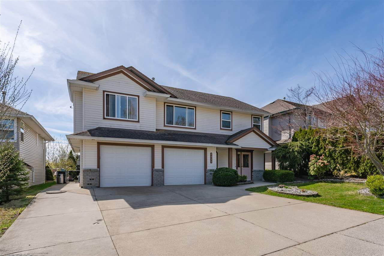 "Main Photo: 8045 D'HERBOMEZ Drive in Mission: Mission BC House for sale in ""College Heights"" : MLS®# R2353591"