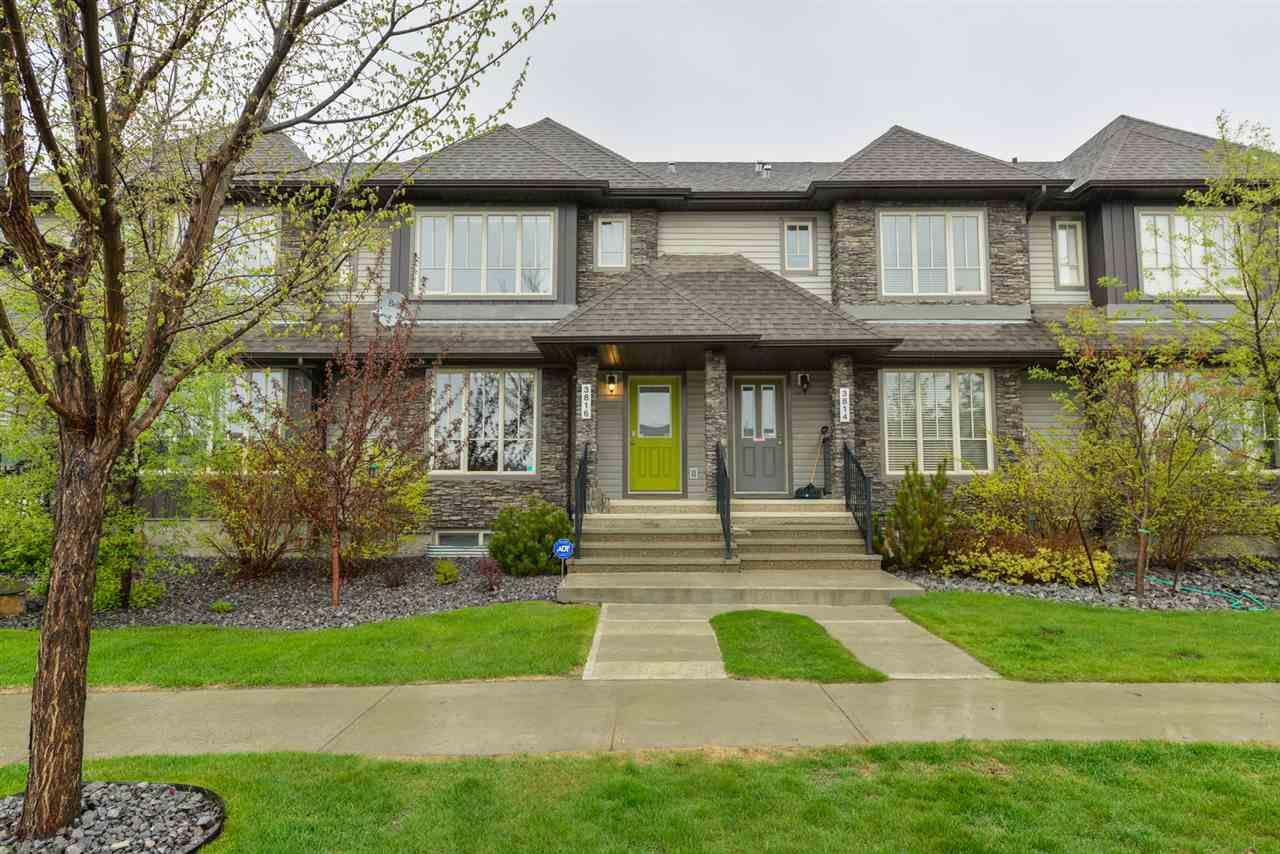 Main Photo: 3816 ALLAN Drive in Edmonton: Zone 56 Attached Home for sale : MLS®# E4157145