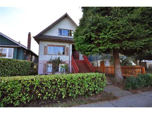 """Main Photo: 3756 ONTARIO Street in Vancouver: Main House Triplex for sale in """"Cambie/Main"""" (Vancouver East)  : MLS®# V869653"""