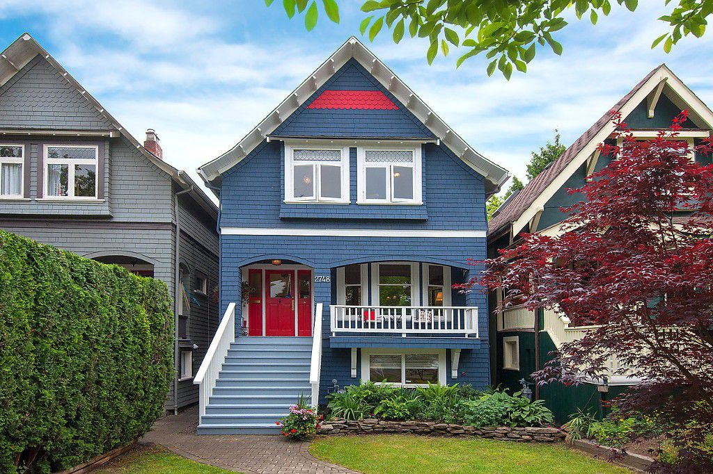 Main Photo: 2748 W 7TH Avenue in Vancouver: Kitsilano House for sale (Vancouver West)  : MLS®# V1125905