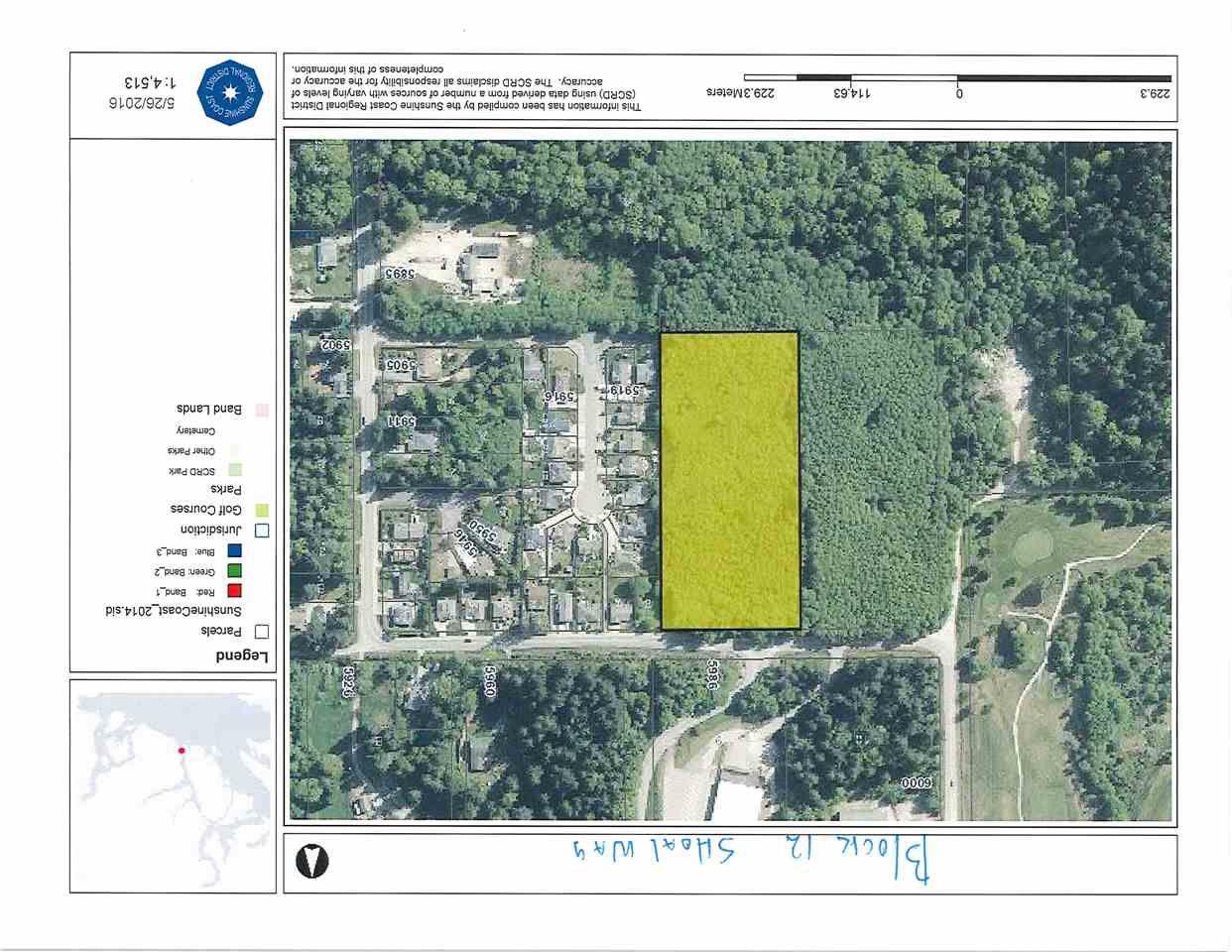 Main Photo: BLK 12 SHOAL Way in Sechelt: Sechelt District Home for sale (Sunshine Coast)  : MLS®# R2126373