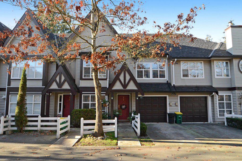 "Main Photo: 27 11757 236 Street in Maple Ridge: Cottonwood MR Townhouse for sale in ""GALIANO"" : MLS®# R2127263"