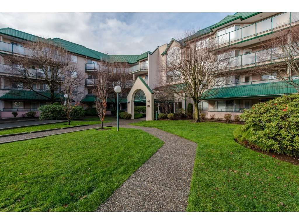 "Main Photo: 221 2964 TRETHEWEY Street in Abbotsford: Abbotsford West Condo for sale in ""CASCADE GREEN"" : MLS®# R2140674"