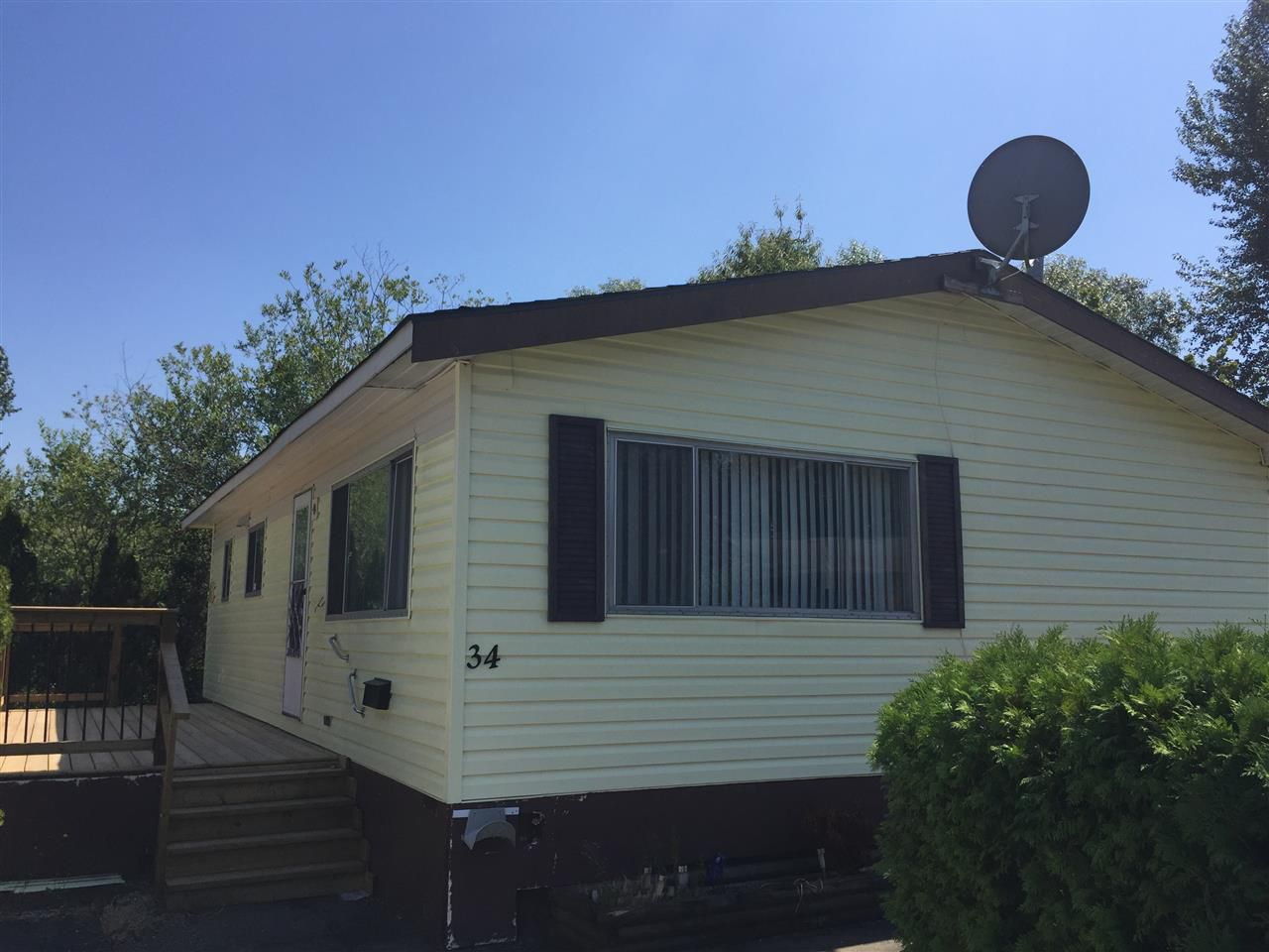 """Main Photo: 34 3300 HORN Street in Abbotsford: Central Abbotsford Manufactured Home for sale in """"GEORGIAN PARK"""" : MLS®# R2191979"""