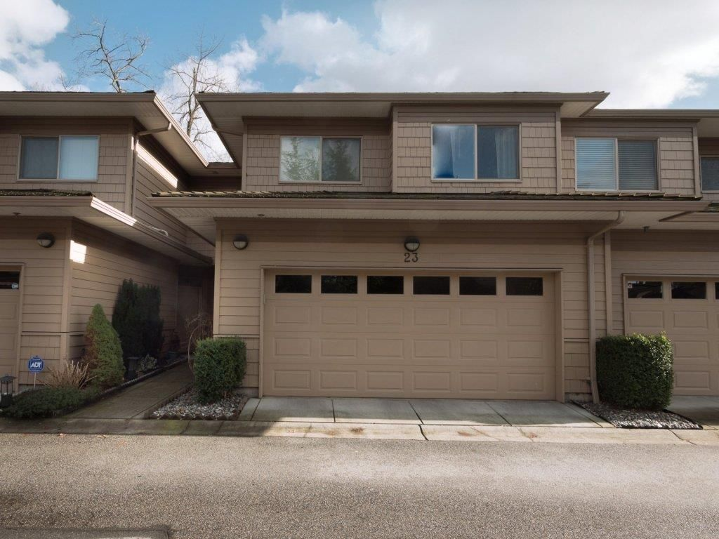 """Main Photo: 23 16655 64 Avenue in Surrey: Cloverdale BC Townhouse for sale in """"Ridgewood Estates"""" (Cloverdale)  : MLS®# R2240875"""