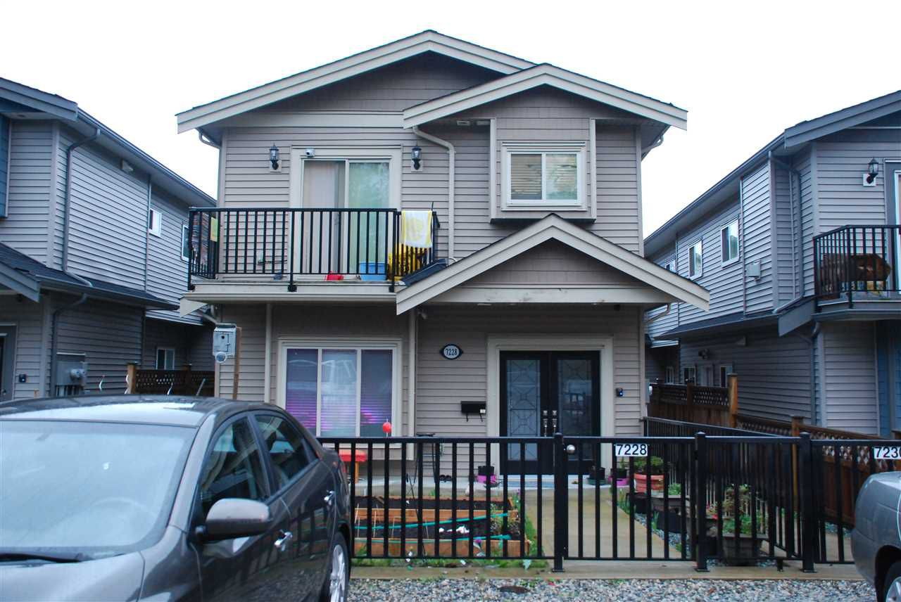 Main Photo: 7228 11TH Avenue in Burnaby: Edmonds BE House 1/2 Duplex for sale (Burnaby East)  : MLS®# R2258333