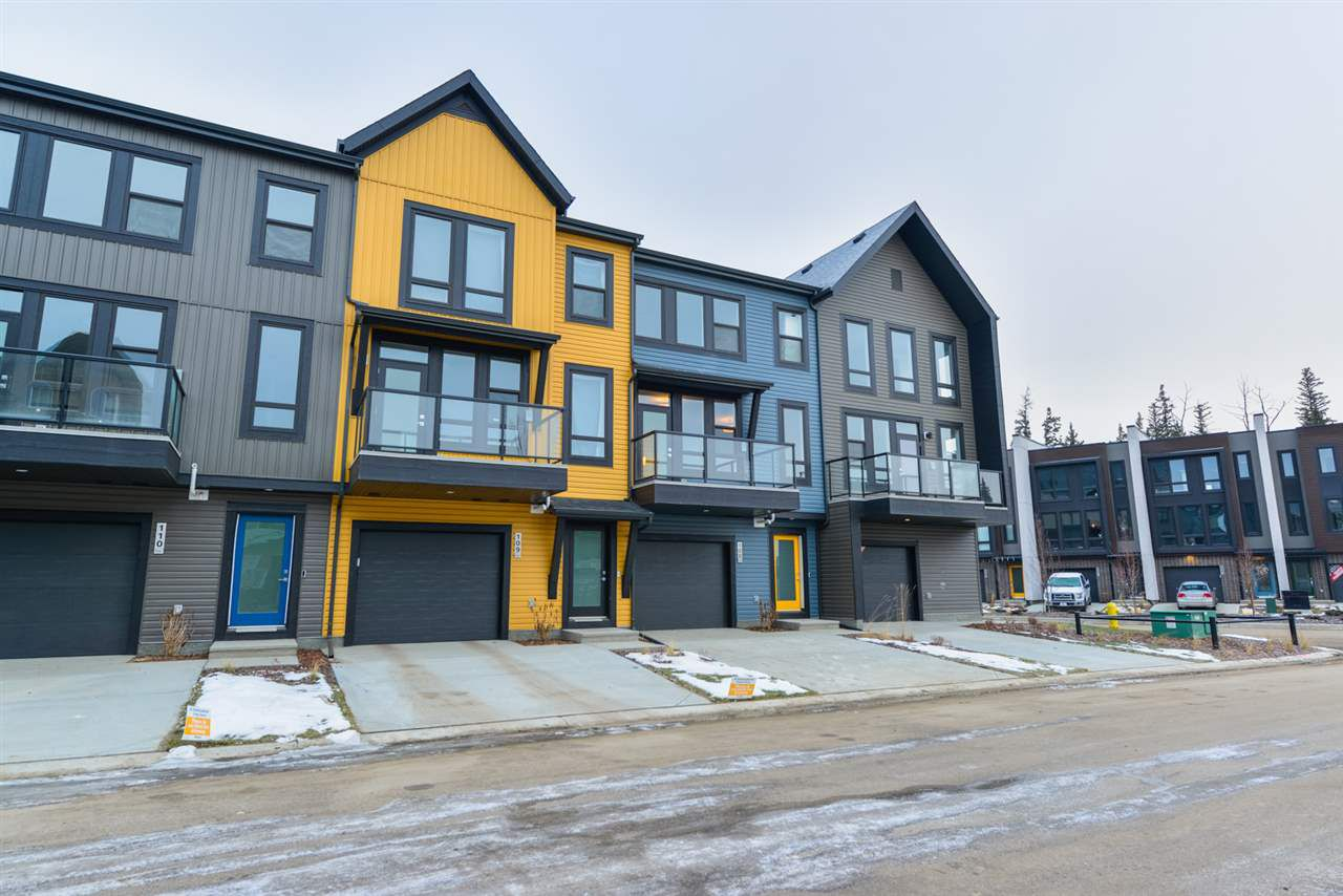 Main Photo: 128 1304 RUTHERFORD Road in Edmonton: Zone 55 Townhouse for sale : MLS®# E4137078