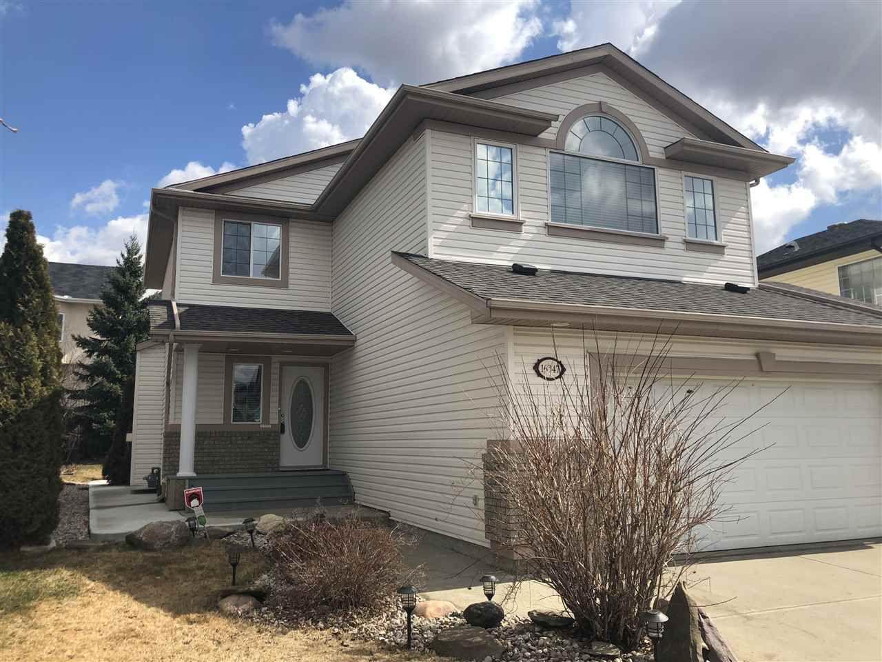 Main Photo: 16347 87 Street in Edmonton: Zone 28 House for sale : MLS®# E4145494