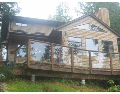 "Main Photo: 1307 OCEANVIEW RD: Bowen Island House for sale in ""BOWEN"" : MLS®# V571163"