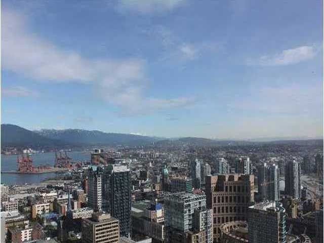 Main Photo: 3501 833 Seymour St. Luxury Downtown Vancouver Condo with City, Water and Mountain Views