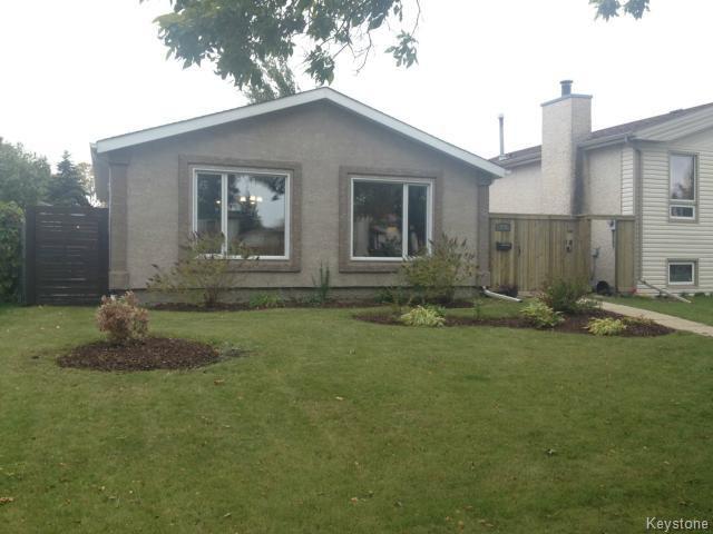 Main Photo: 316 Le Maire Street in WINNIPEG: Fort Garry / Whyte Ridge / St Norbert Residential for sale (South Winnipeg)  : MLS®# 1425076