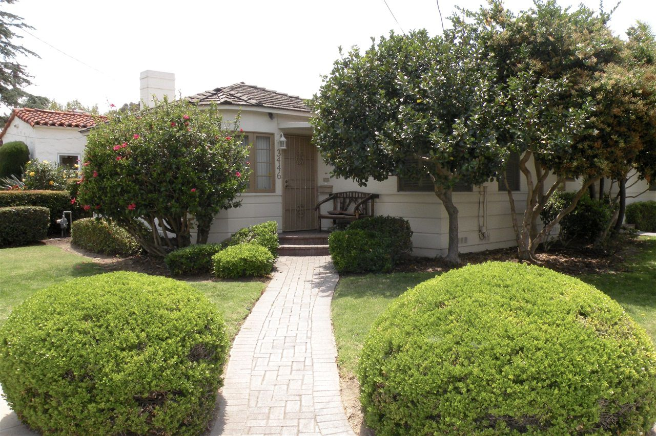 Main Photo: HILLCREST House for sale : 3 bedrooms : 3446 Richmond St in San Diego