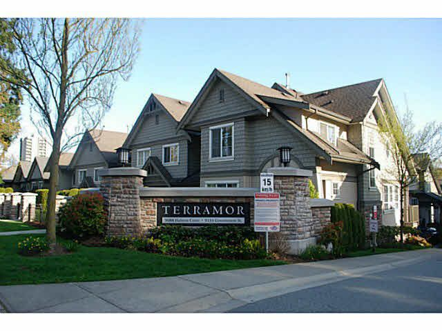 Main Photo: 56 9088 HALSTON Court in Burnaby: Government Road Townhouse for sale (Burnaby North)  : MLS®# R2106108