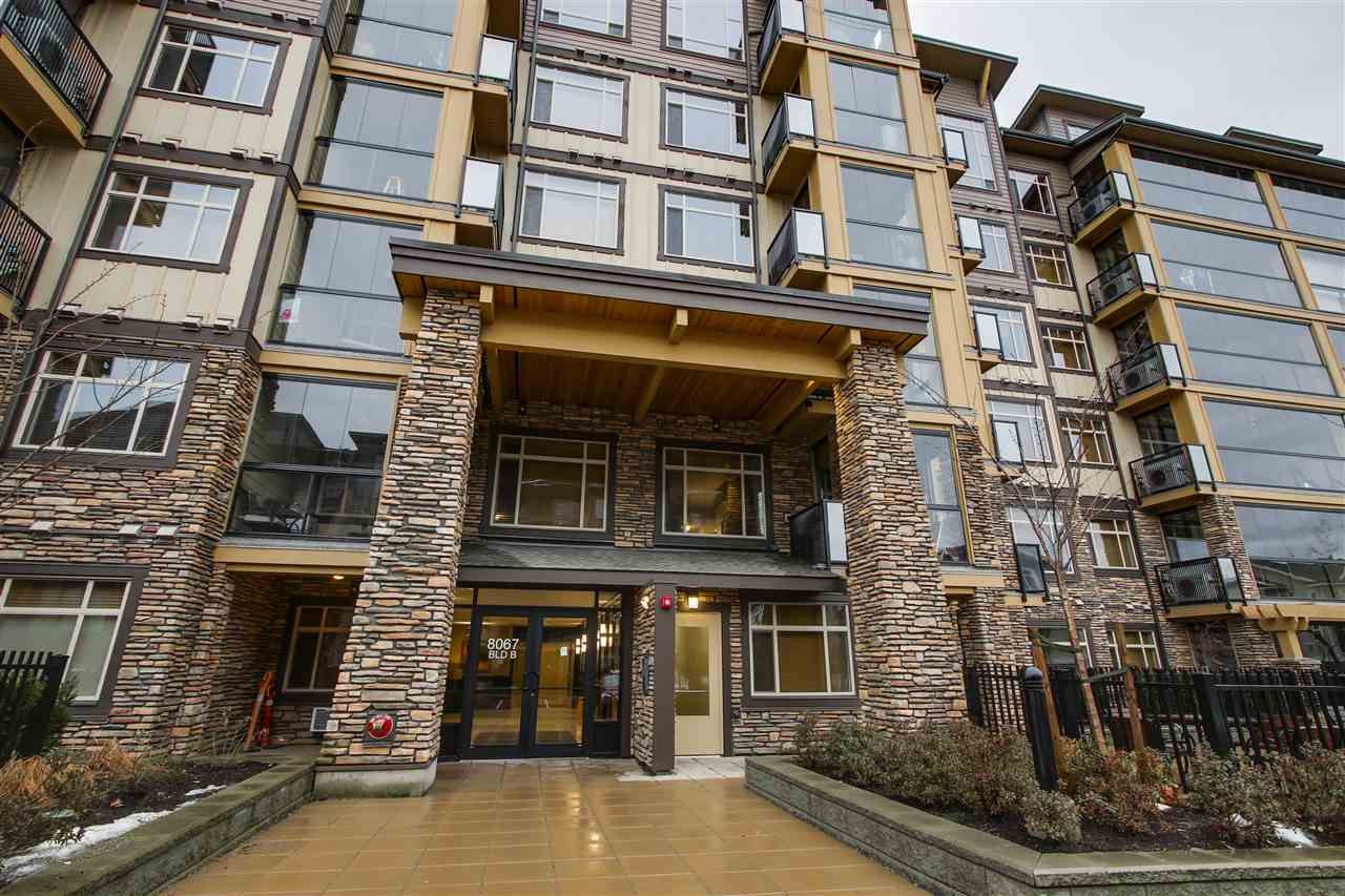 """Main Photo: 412 8067 207 Street in Langley: Willoughby Heights Condo for sale in """"Yorkson Creek"""" : MLS®# R2132692"""
