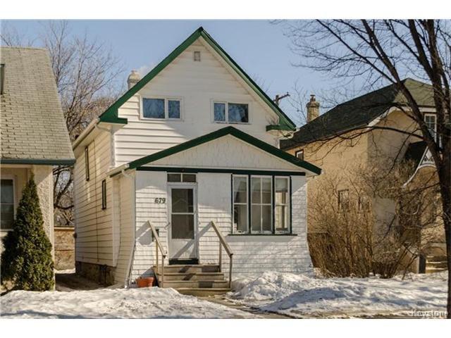 Main Photo: 679 Sherburn Street in Winnipeg: West End Residential for sale (5C)  : MLS®# 1705107