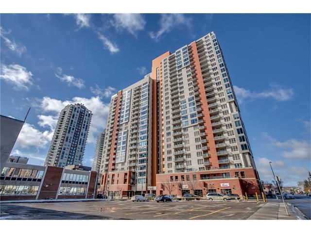 Main Photo: 1406 1053 10 Street SW in Calgary: Beltline Condo for sale : MLS®# C4110004