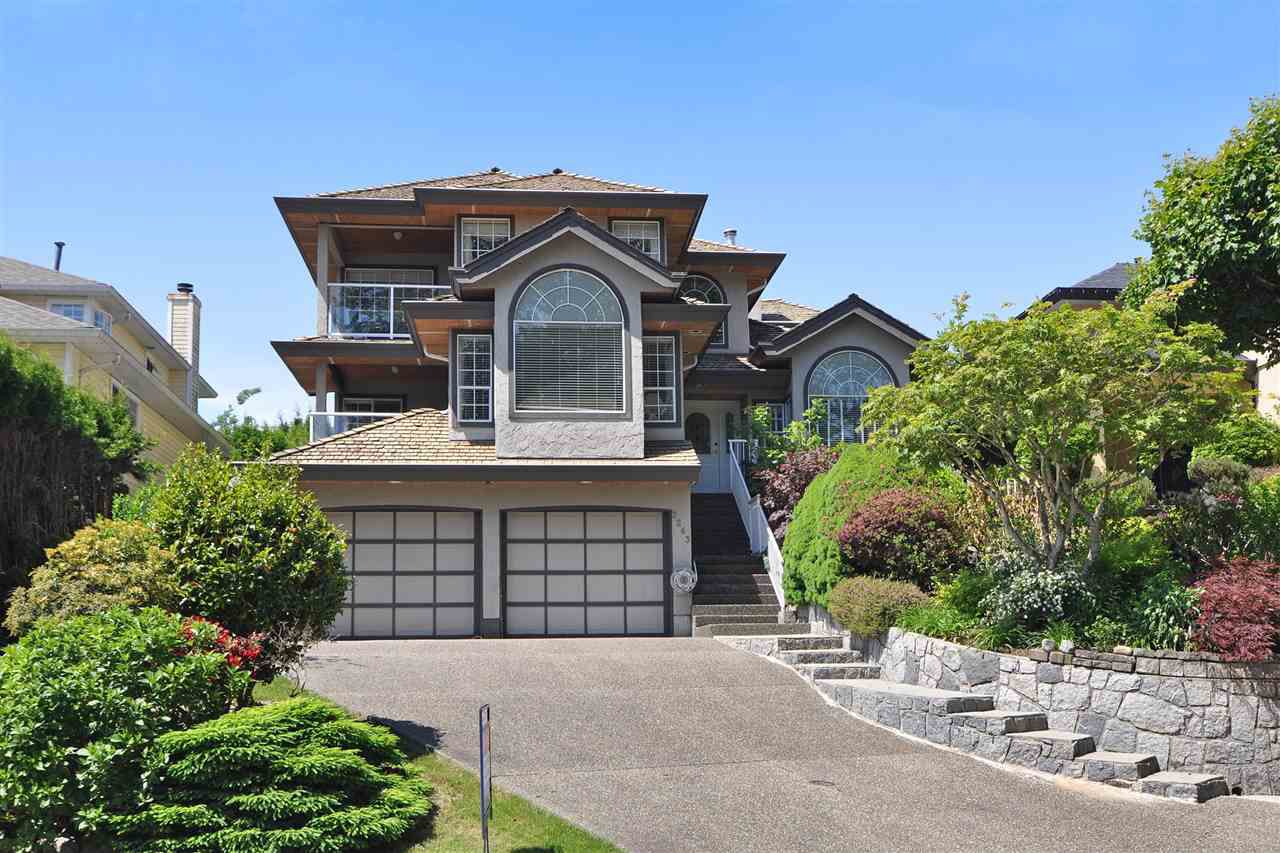 Main Photo: 2263 SORRENTO Drive in Coquitlam: Coquitlam East House for sale : MLS®# R2171552