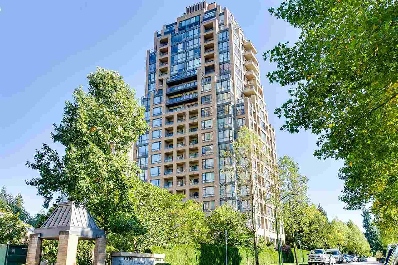 """Main Photo: 803 7388 SANDBORNE Avenue in Burnaby: South Slope Condo for sale in """"MAYFAIR PLACE"""" (Burnaby South)  : MLS®# R2211113"""