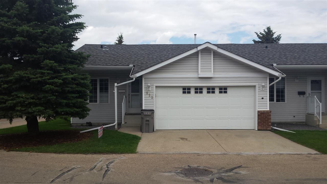 Main Photo: 122 4408 37 Street: Stony Plain House Half Duplex for sale : MLS®# E4129600