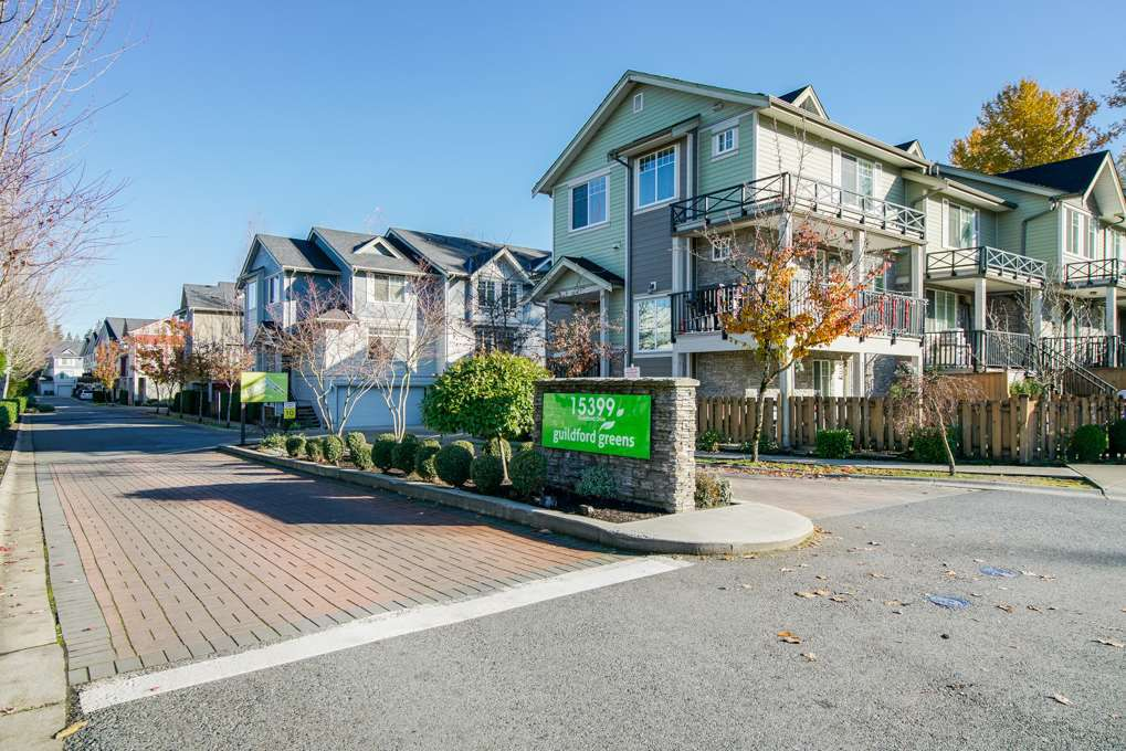 """Main Photo: 50 15399 GUILDFORD Drive in Surrey: Guildford Townhouse for sale in """"Guildford Greens"""" (North Surrey)  : MLS®# R2323934"""
