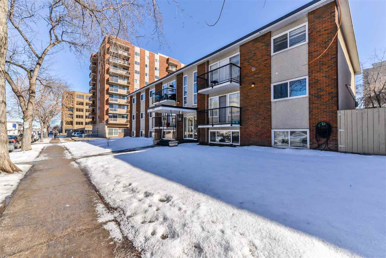 106 10345 123 Street Edmonton 2 Bed 1.5 Bath Condo for sale E4139942