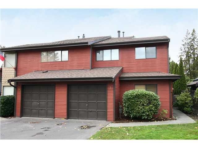 "Main Photo: 3 21550 CHERRINGTON Avenue in Maple Ridge: West Central House 1/2 Duplex for sale in ""MAPLE RIDGE ESTATES"" : MLS®# V890073"