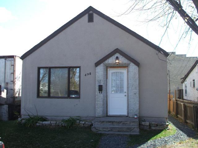Main Photo: 498 Plinguet Street in WINNIPEG: St Boniface Residential for sale (South East Winnipeg)  : MLS®# 1121198