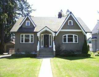 Main Photo: 3540 W 36TH AV in Vancouver: Dunbar House for sale (Vancouver West)  : MLS®# V593559