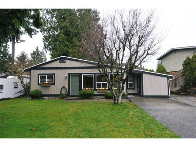 Main Photo: 21161 122ND Avenue in Maple Ridge: Northwest Maple Ridge House for sale : MLS®# V1054323