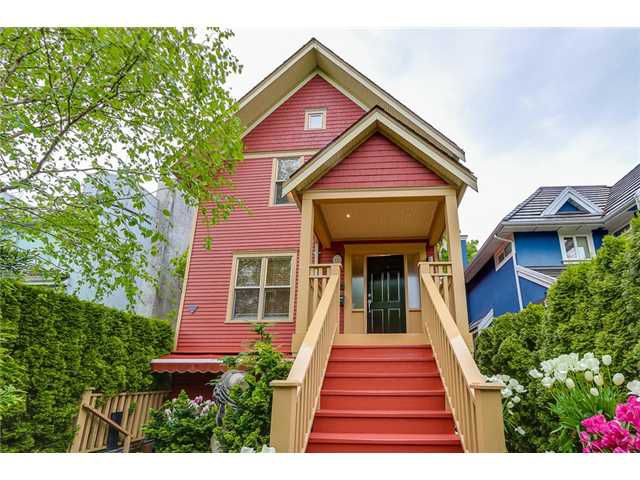 Main Photo: 833 W 19TH Avenue in Vancouver: Cambie House 1/2 Duplex for sale (Vancouver West)  : MLS®# V1062869