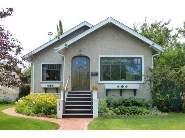 Photo 1: Photos: 1409 6 Street NW in Calgary: Rosedale House for sale : MLS®# C4008743