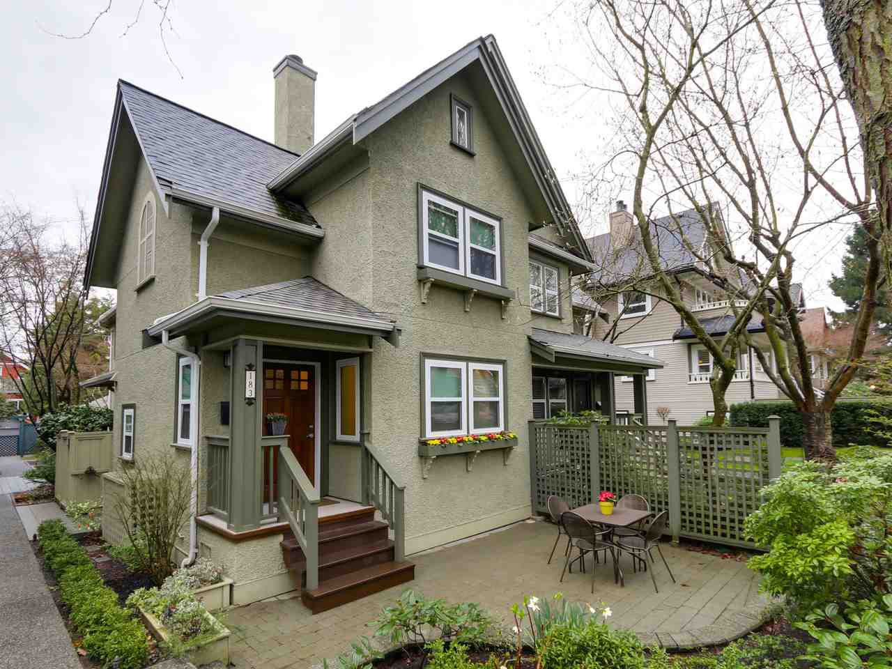 Main Photo: 183 W 13TH Avenue in Vancouver: Mount Pleasant VW Townhouse for sale (Vancouver West)  : MLS®# R2041356
