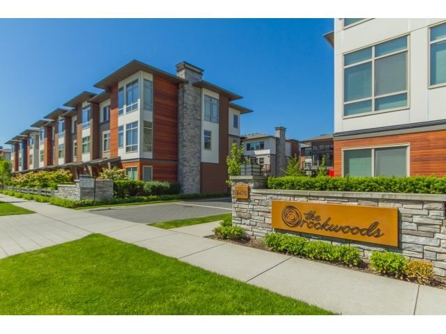 "Main Photo: 88 8473 163 Street in Surrey: Fleetwood Tynehead Townhouse for sale in ""ROCKWOODS"" : MLS®# R2065100"