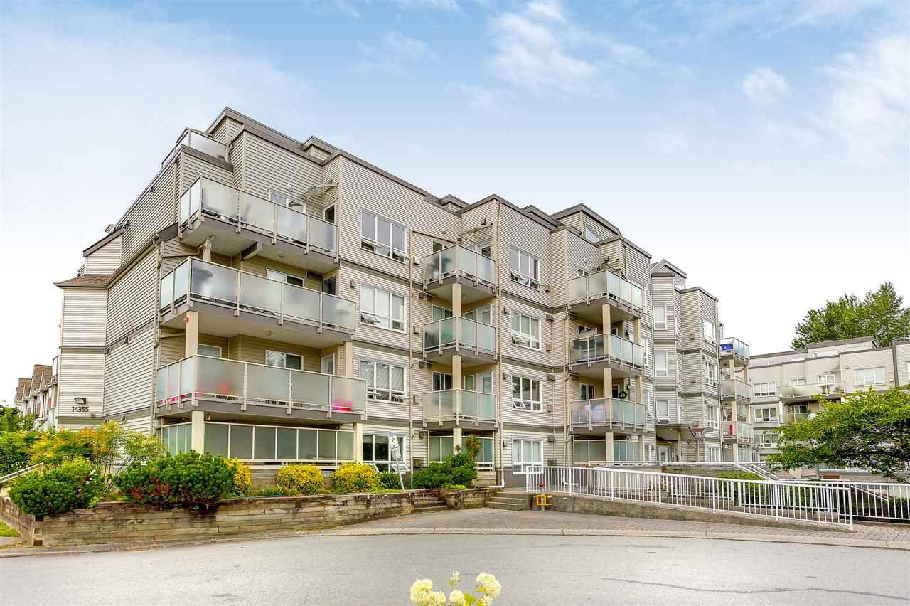 "Main Photo: 402 14355 103 Avenue in Surrey: Whalley Condo for sale in ""Claridge Court"" (North Surrey)  : MLS®# R2191413"