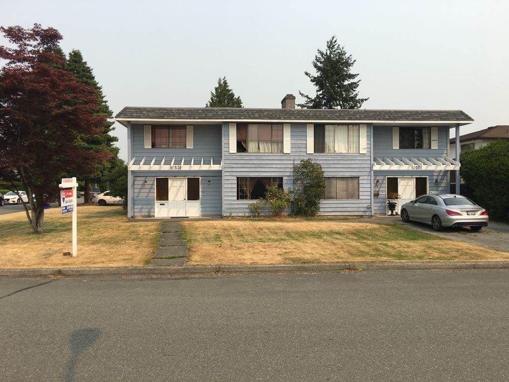 Main Photo: 10531 - 10551 ANAHIM Drive in Richmond: McNair House Duplex for sale : MLS®# R2194316