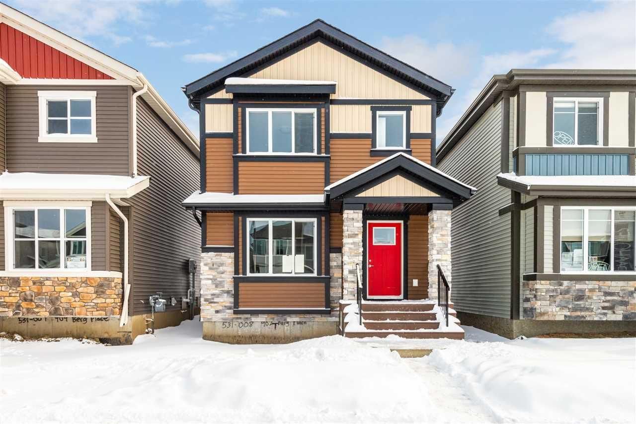 Main Photo: 907 Berg Place: Leduc House for sale : MLS®# E4142769