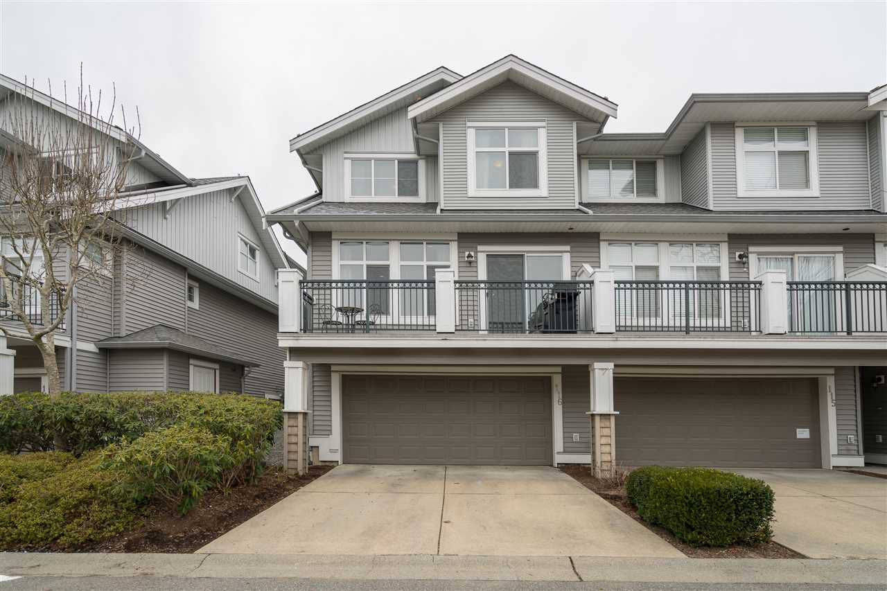 """Main Photo: 116 20449 66 Avenue in Langley: Willoughby Heights Townhouse for sale in """"Nature's Landing"""" : MLS®# R2348653"""