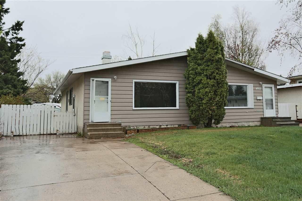 Main Photo: 4912B 55A Avenue: Stony Plain House Duplex for sale : MLS®# E4156972