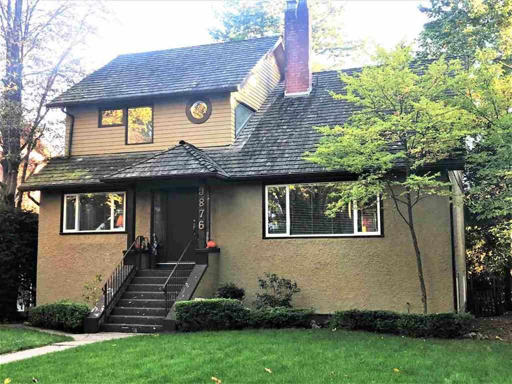"""Main Photo: 3876 W 36TH Avenue in Vancouver: Dunbar House for sale in """"Dunbar"""" (Vancouver West)  : MLS®# R2378645"""