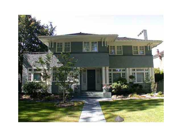 Main Photo: 5989 CHURCHILL Street in Vancouver: South Granville House for sale (Vancouver West)  : MLS®# V877277