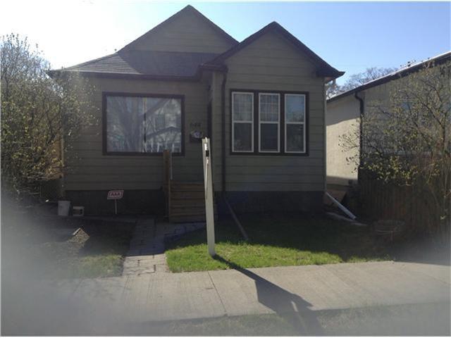 Main Photo: 648 Lipton Street in WINNIPEG: West End / Wolseley Single Family Detached for sale (West Winnipeg)  : MLS®# 1309596
