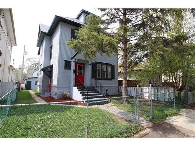 Main Photo: 236 Atlantic Avenue in Winnipeg: North End Residential for sale (4C)  : MLS®# 1711415
