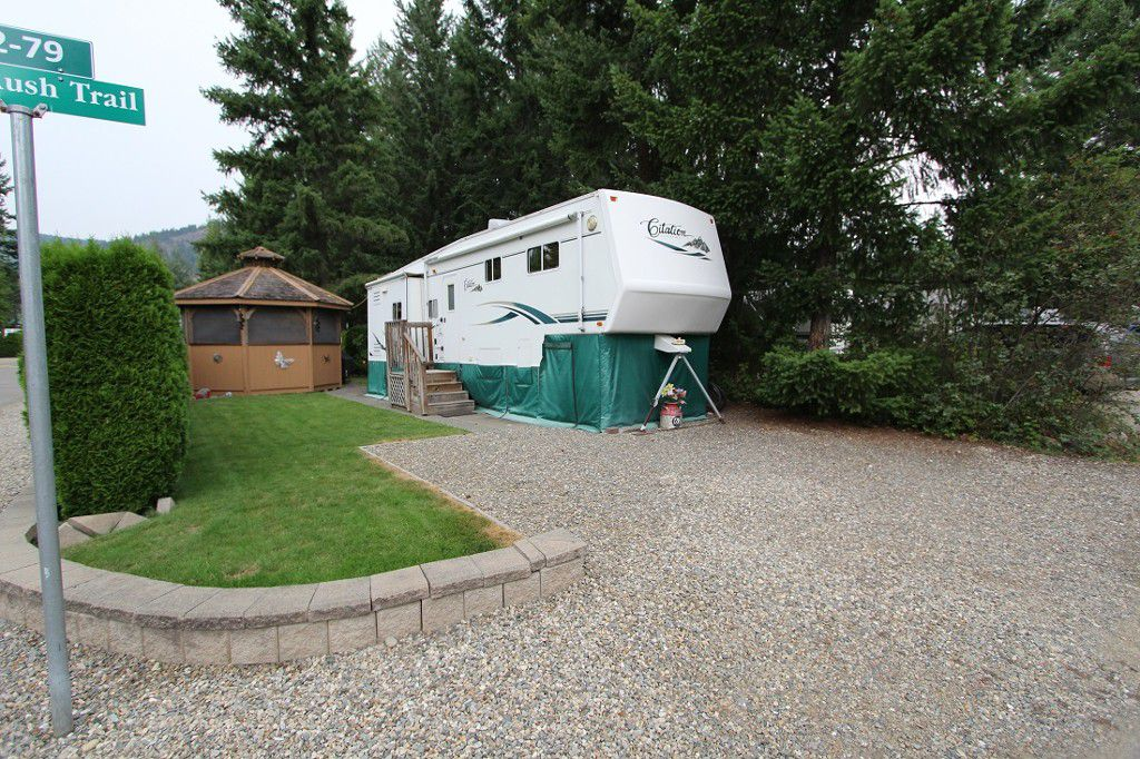 Main Photo: 62 3980 Squilax Anglemont Road in Scotch Creek: Recreational for sale : MLS®# 10156192