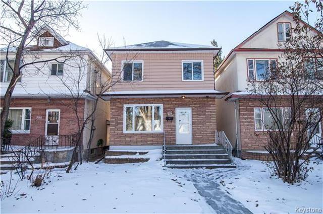 Main Photo: 582 Machray Avenue in Winnipeg: Residential for sale (4C)  : MLS®# 1729441